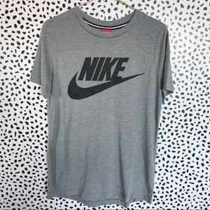 Nike Grey Modal Blend Logo Tee